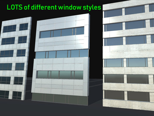 Highrise Windows and Walls