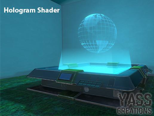 Hologram Shader - Yass Creations