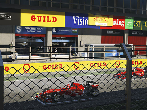 DS Racing Circuits - Track01 (Mobile&PC)