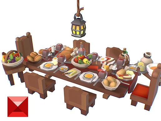 Food Set - Proto Series