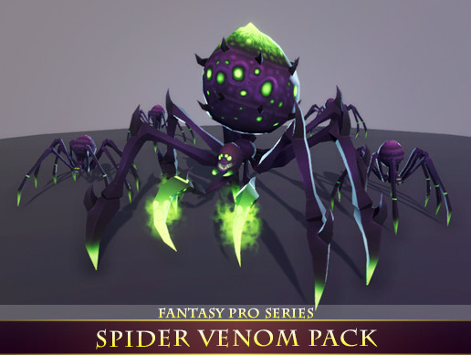 Spider Venom Pack