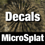 MicroSplat - Decals