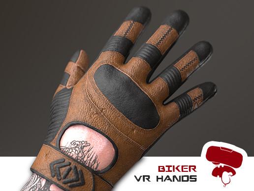 Biker VR Hand