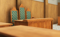 Courtroom - interior and props