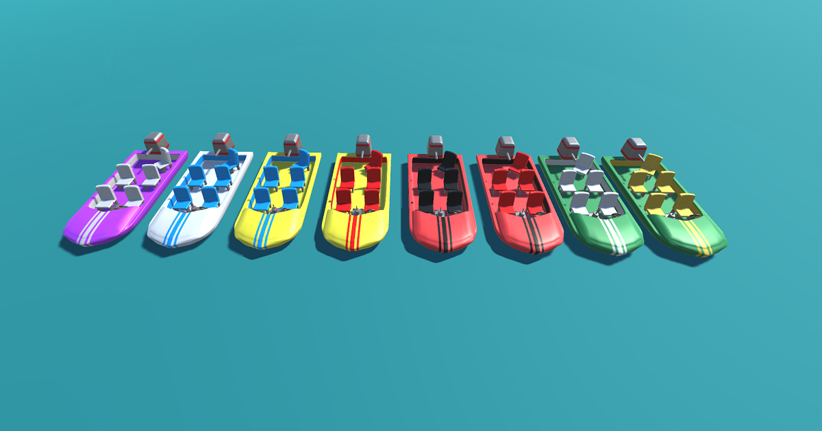 Stylized Speedboat