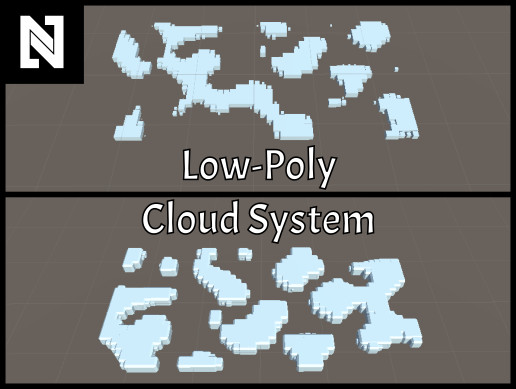 Low-Poly Cloud System