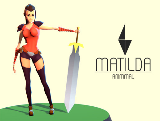 Matilda - Stylized Action Adventure/RPG Character