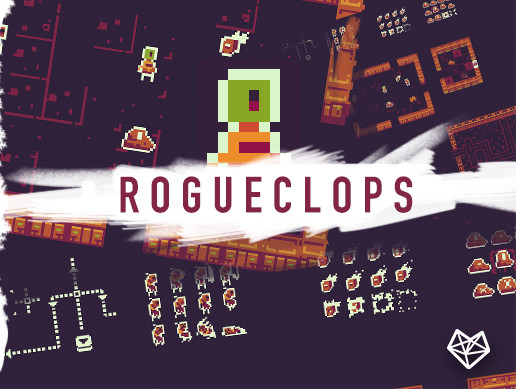 RogueClops - Top Down Tileset