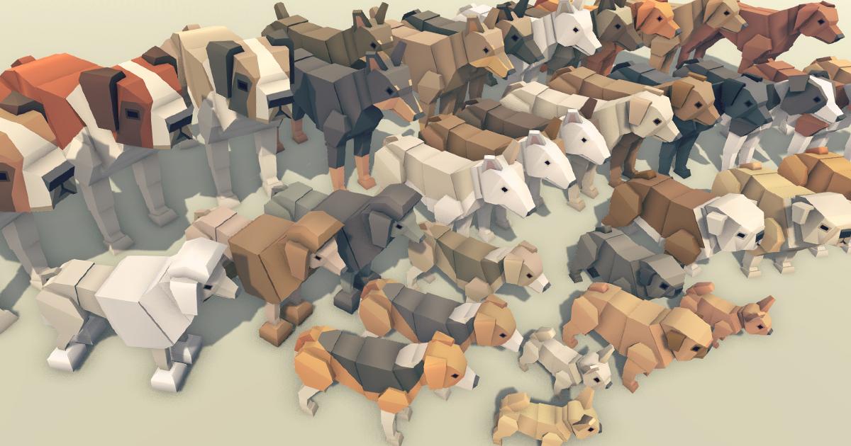 Simple Dogs - Cartoon Animals