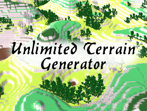 Unlimited Terrain Generator