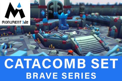 Catacomb Dungeons Set - Brave Series