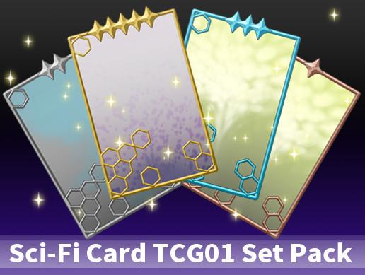 Sci-Fi Card TCG01 Set Pack