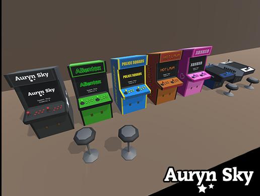 Simple Arcade Machines Pack