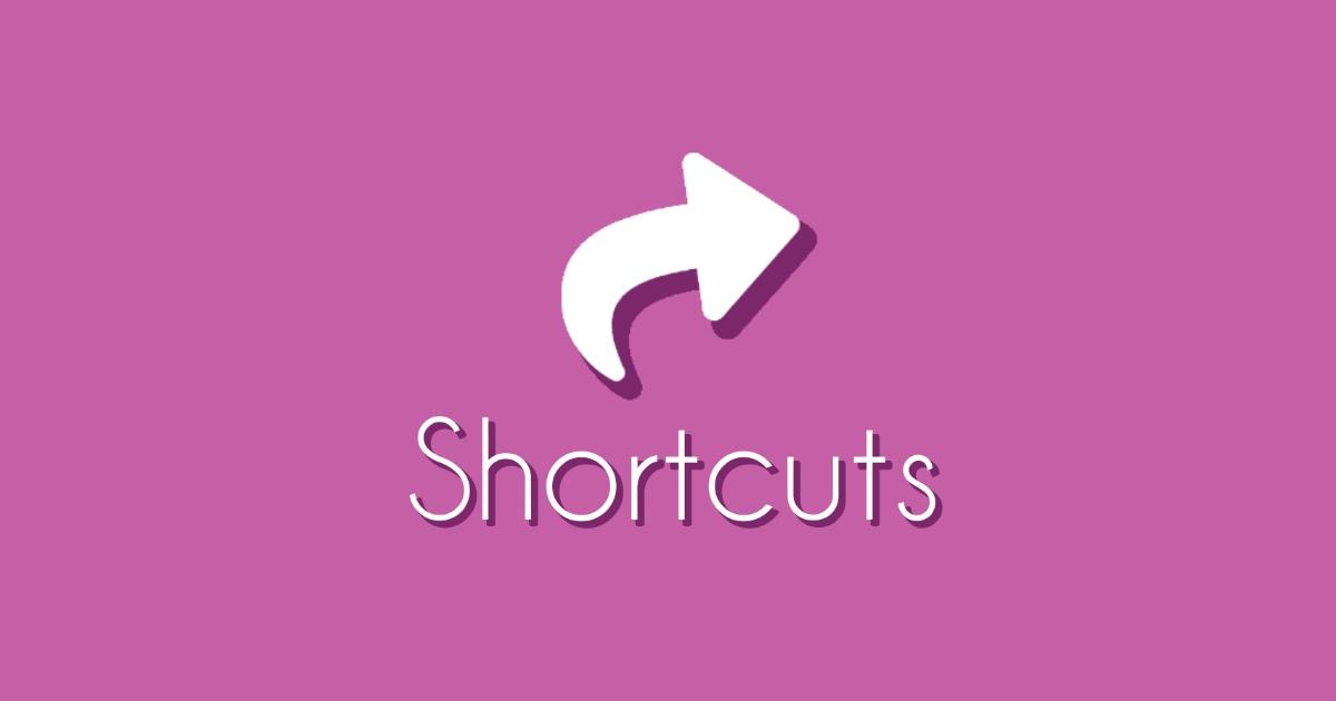 Shortcuts (CG)
