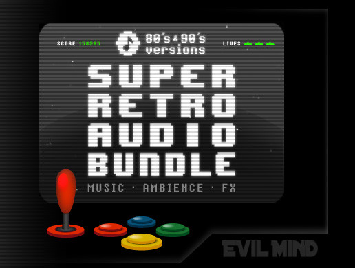 Super Retro Audio Bundle (Music + Ambience + Fx)