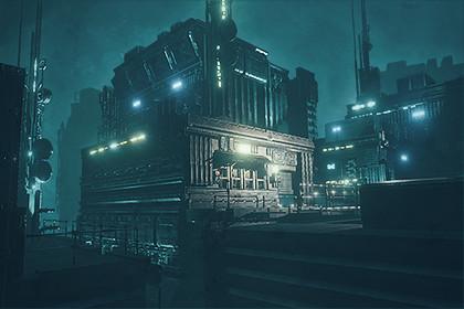 Cyberpunk Outpost