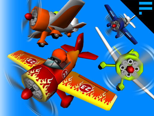 Awesome Cartoon Airplanes