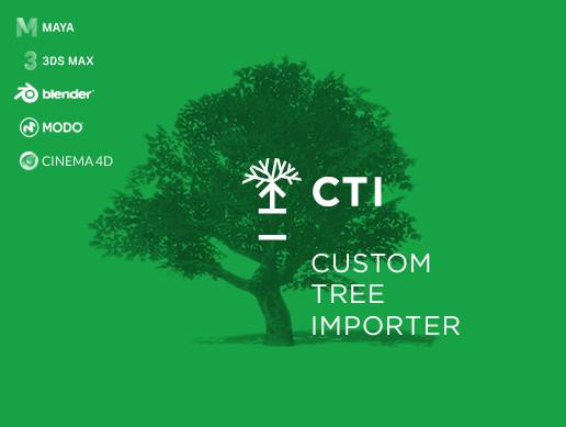 Custom Tree Importer - Asset Store