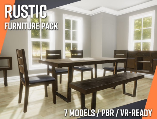 Rustic Furniture Set - RCFurniture