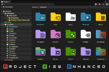 Project View Enhanced