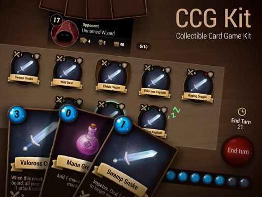 پروژه کامل یونیتی CCG Kit
