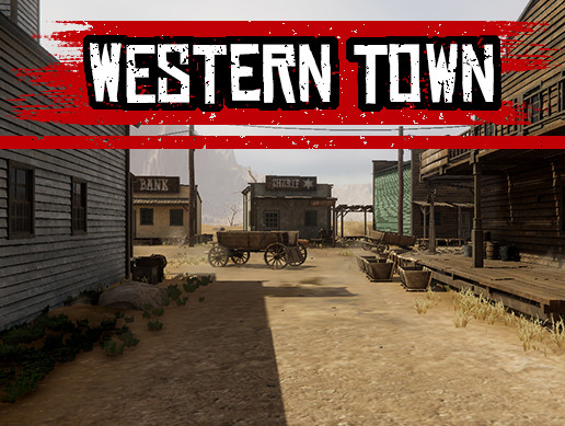 Western Town Environment