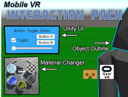 Mobile VR Interaction Pack