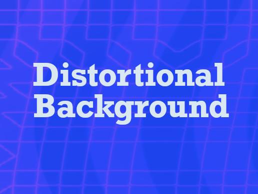 Distortional Background Effect Shader