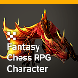 Fantasy Chess RPG Character - Smaug