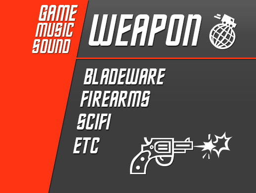 GameMusicSound - Weapon Sounds Pack