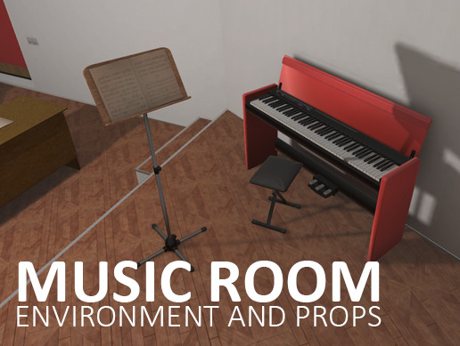 Music room - environment and props