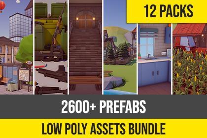 Low Poly Asset Bundle