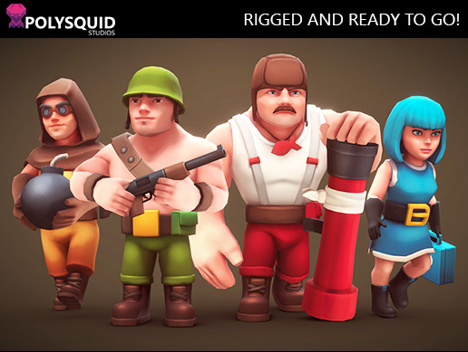 Cartoon Army Men