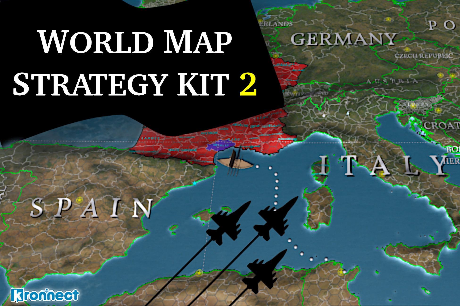 World Map Strategy Kit 2