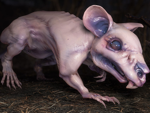 Fanged Mutant Rat