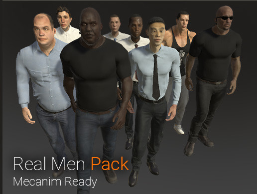 Real Men Pack