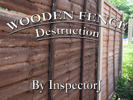 Wooden Fence Destruction (Free Sample Pack)