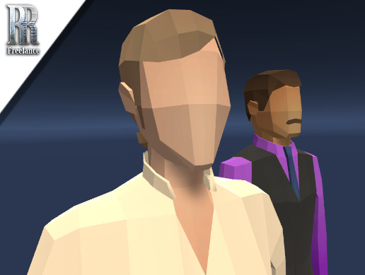 Low Poly Business People