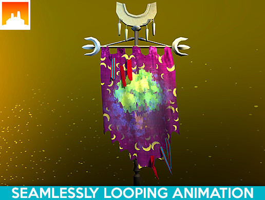 Animated Fantasy Flag #4