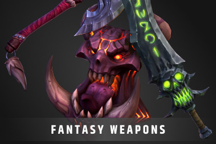 Stylized Fantasy Weapons Pack