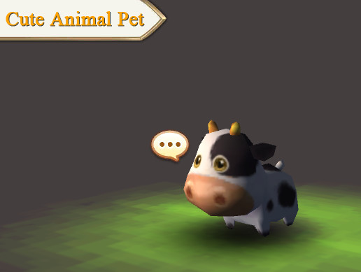 Cute Animal Pet (Cow)