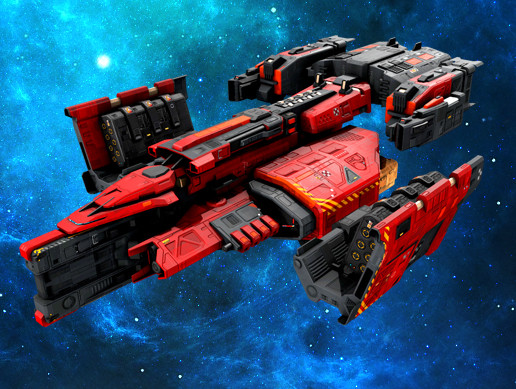 Federation Missiles Ship GB3