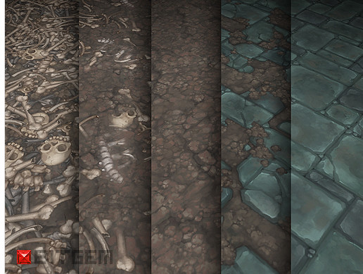 100+ Hand Painted Textures