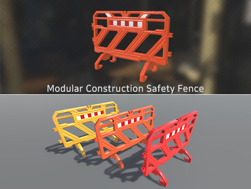 Modular Construction Safety Fence