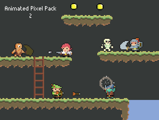 Animated Pixel Pack 2