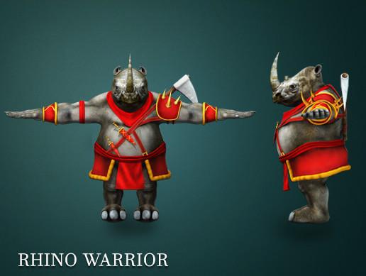 Rhino Warrior Pack