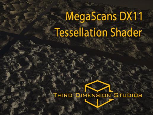 Quixel Megascans Tessellation Shader - Asset Store