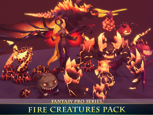 Fire Creatures Pack