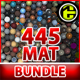 PBR Material Bundle Vol1 (445)