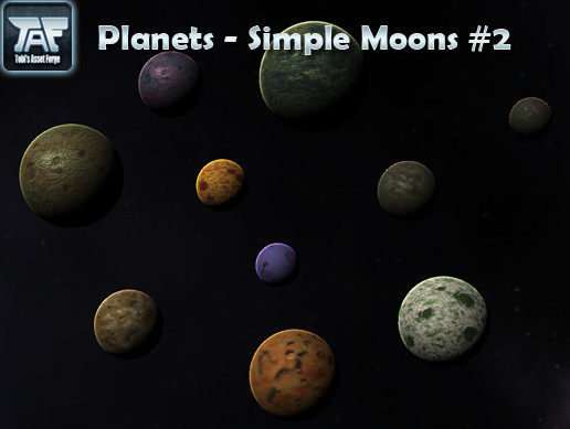 Planets - Simple Moons #2